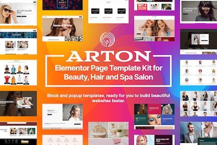 Arton - Schönheits- und Spa-Salon-Template Kit