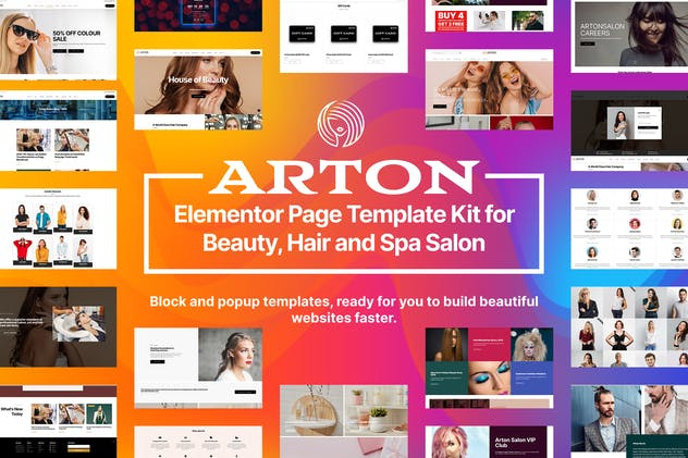 Arton - Beauty & Spa Salon Template Kit