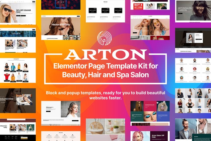 Cover Image For Arton - Beauty & Spa Salon Template Kit