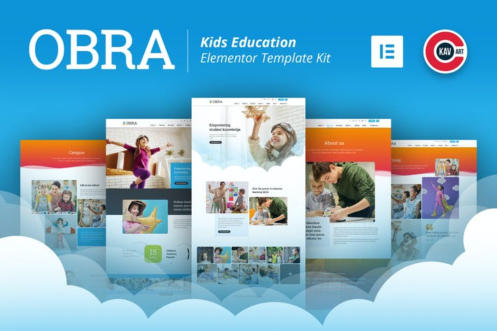 Thumbnail for Obra - Kids Education & School Template Kit