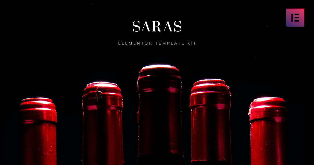 Download Saras - Wine Template Kit by disgogo