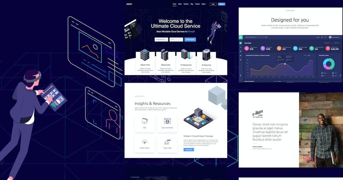 Download Hostplus - Hosting Services Template Kit by deTheme