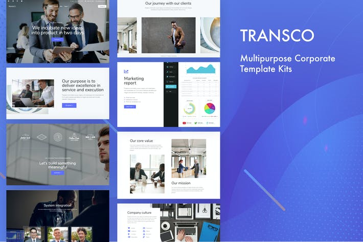 Thumbnail for Transco - Business Template Kit