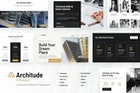 Architude   Architecture Elementor Template Kit