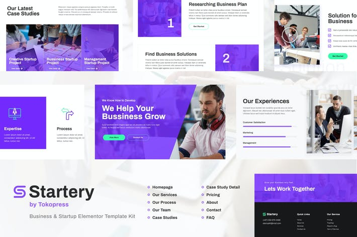 Thumbnail for Startery | Business & Startup Elementor Template Kit