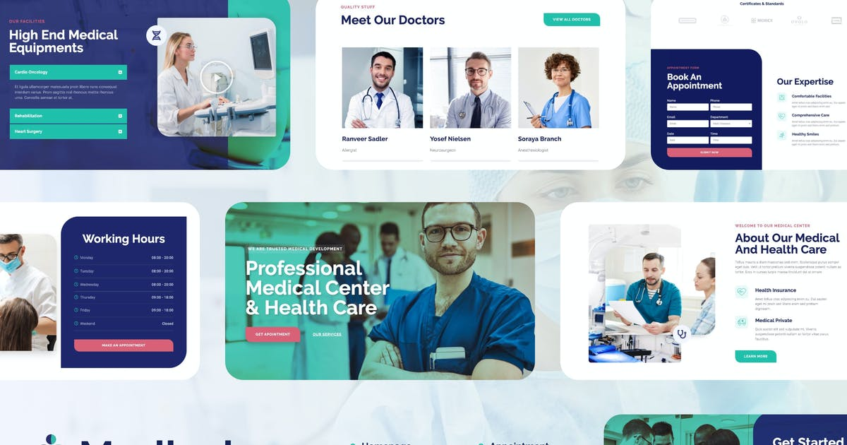 Download Medicale | Medical & Health Elementor Template Kit by tokopress
