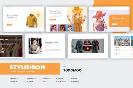 Stylishion | Fashion Store Elementor Template Kit