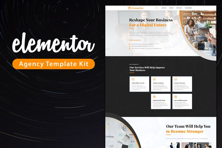 OrangeBee - Agency Template Kit