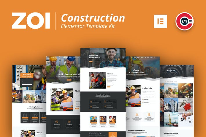 Thumbnail for ZOI - Construction Template Kit