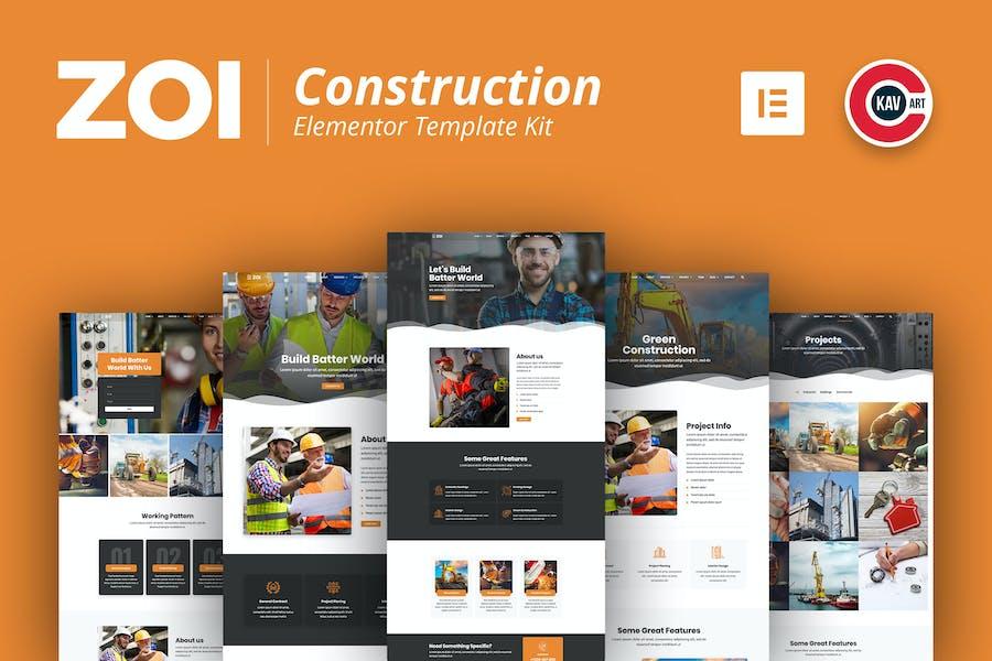 ZOI - Construction Template Kit