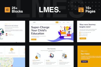 LMES - Education Elementor Template Kit