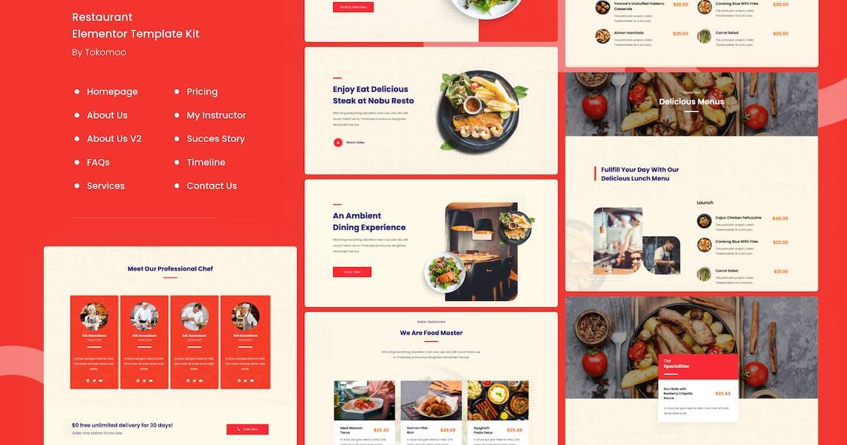 Download Bresto | Restaurant Elementor Template Kit by tokomoo