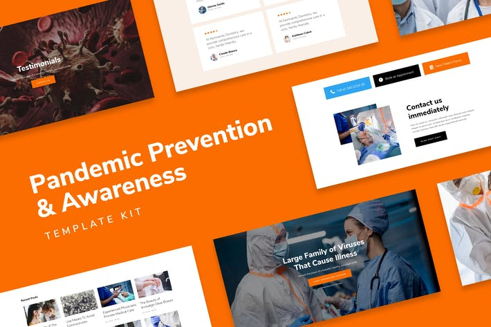 Thumbnail for SafetyKit - Pandemic Prevention & Awareness Template Kit