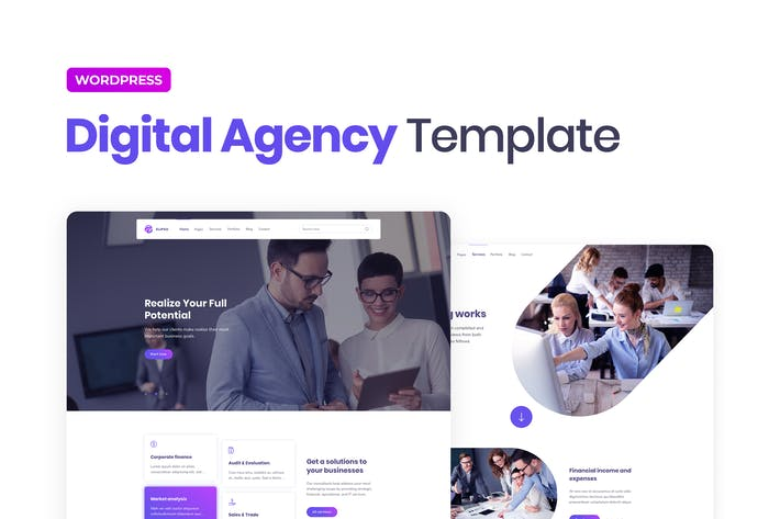 Elipso – Digital Agency Elementor Template Kit