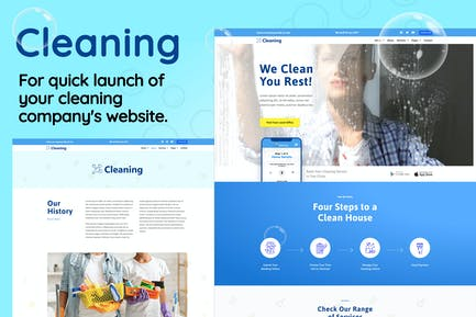 Cleaning - Small Business Template Kit