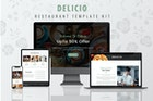 Delicio - Restaurant WordPress Template Kit