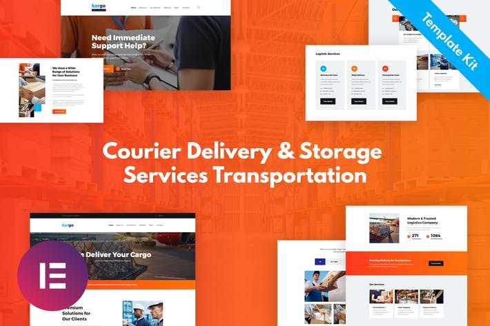 Thumbnail for Kargo - Delivery & Storage Template Kit