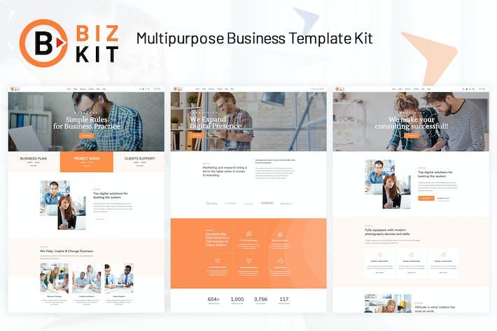 BizKit - Mehrzweck-GeschäftsTemplate Kit