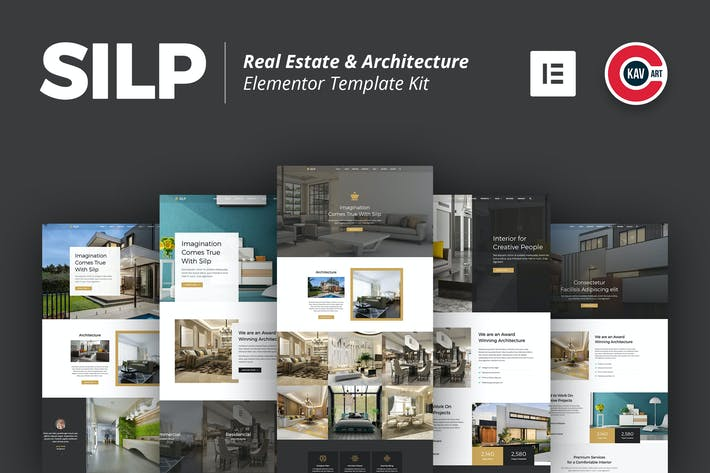 Thumbnail for Silp - Real Estate & Architecture Template Kit