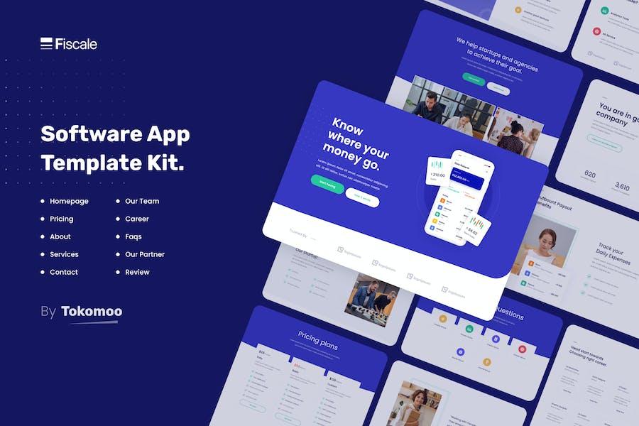 Fiscale | Startup Elementor Template Kit Unternehmen und Finanzen