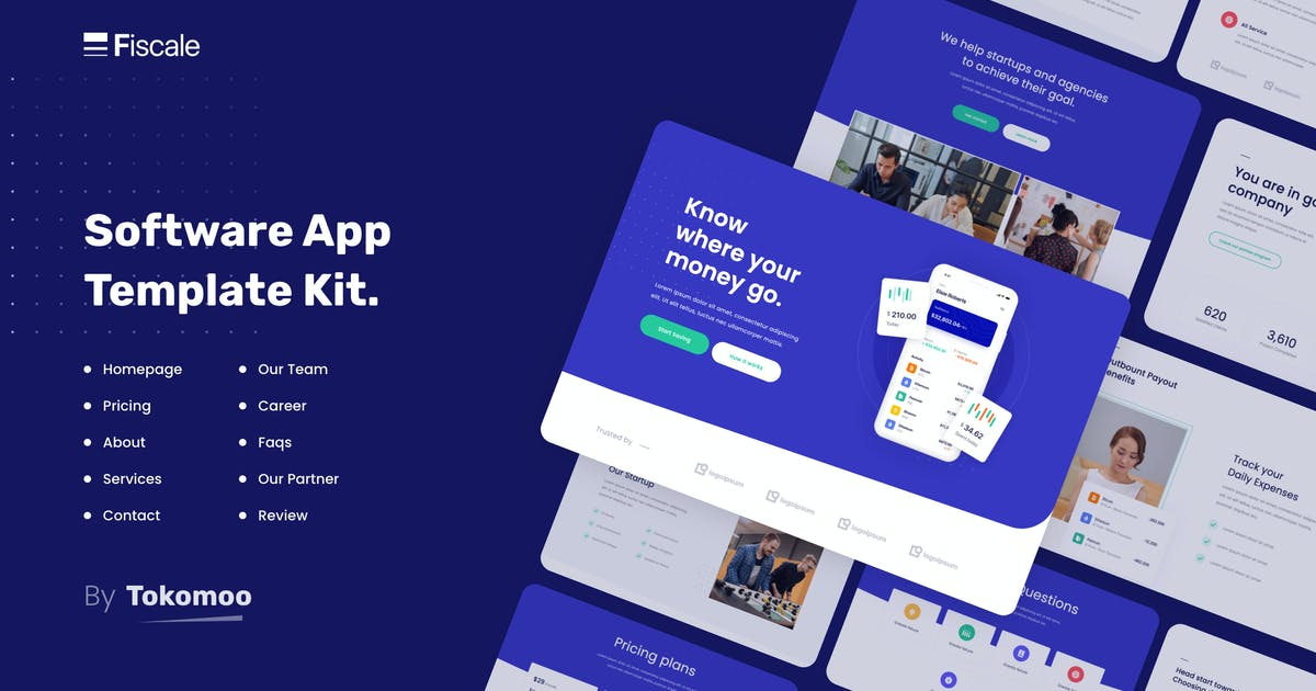 Download Fiscale | Business & Services Elementor Template Kit by tokomoo