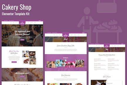 Cakeryshop - Bakery Business Template Kit