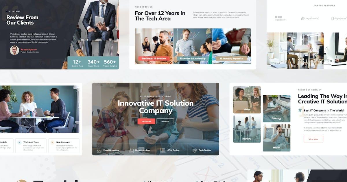 Download Techiz | Business & Startup Elementor Template Kit by tokopress