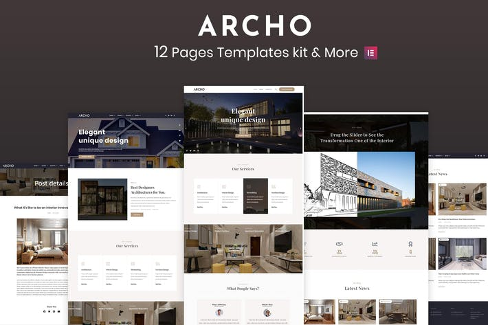 Thumbnail for Archo - Architecture & Interior kit