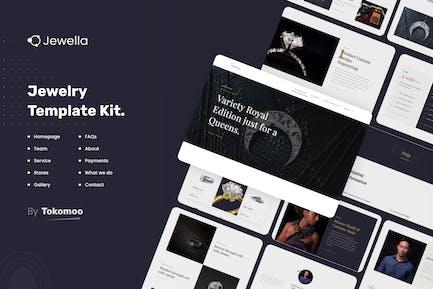 Jewella - Joyería Elementor Template Kit