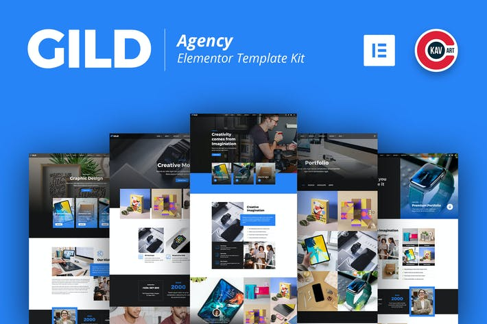 Gild - Agentur Template Kit