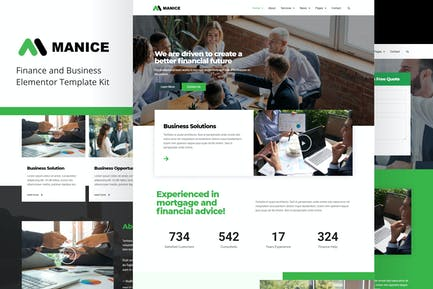 Manice - Business Template Kit