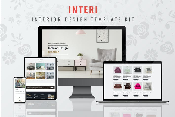 Thumbnail for Interi - Interior Design Elementor Template Kit