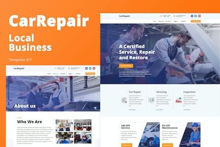 CarRepair - Local Business Template Kit