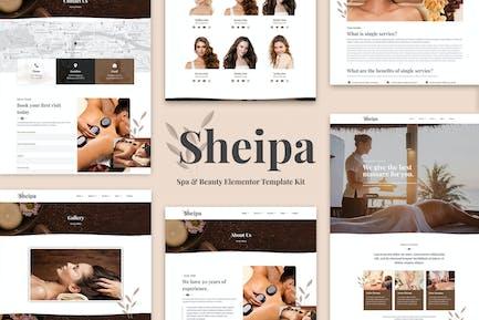 Sheipa - Spa & Beauty Elementor Template Kit
