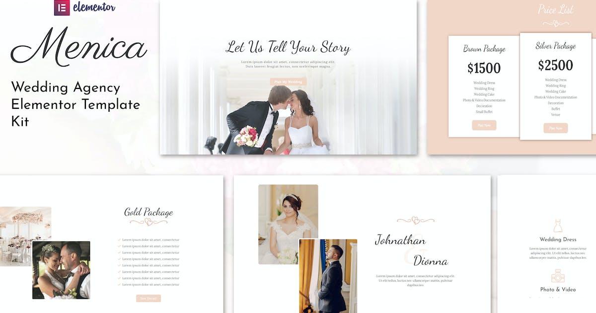 Download Menica - Wedding Elementor Template Kit by Attype-Studio