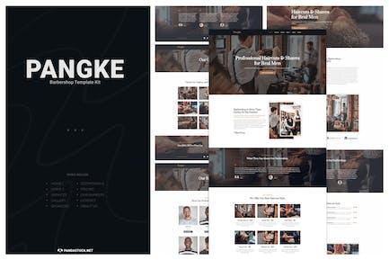 Pangke - Barbershop Template Kit