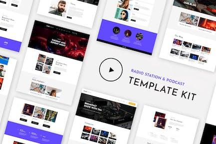 RareRadio | Music & Streaming Elementor Template Kit