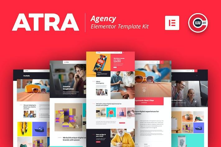 Atra - Creative Agentur Elementor Template Kit