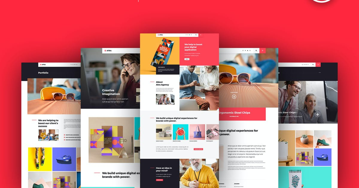 Download Atra - Creative Agency Elementor Template Kit by C-Kav
