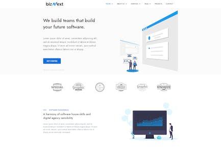 BizNext - Unternehmens- Business Template Kit