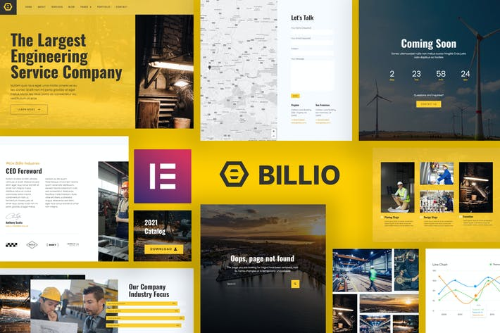 Billio - Engineering Service Template Kit