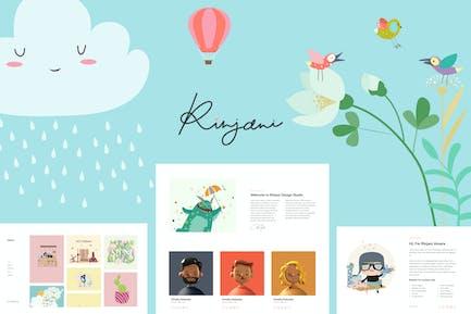 Rinjani - Template Kit for Illustrator and Designer