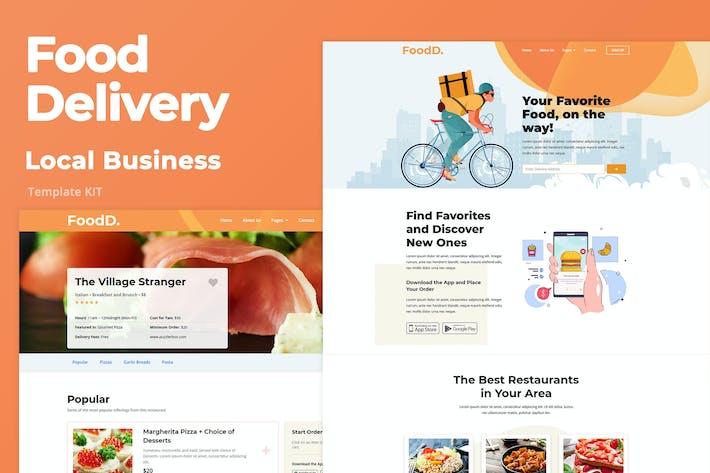 Thumbnail for Livraison de nourriture - Entreprise locale