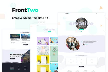 FrontTwo - Creative Studio Template Kit