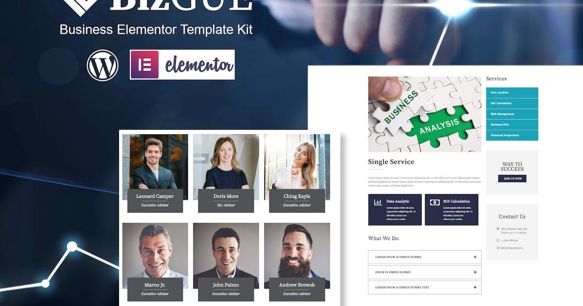 Download BizGUE - Business Elementor Template Kit by TemeGUM