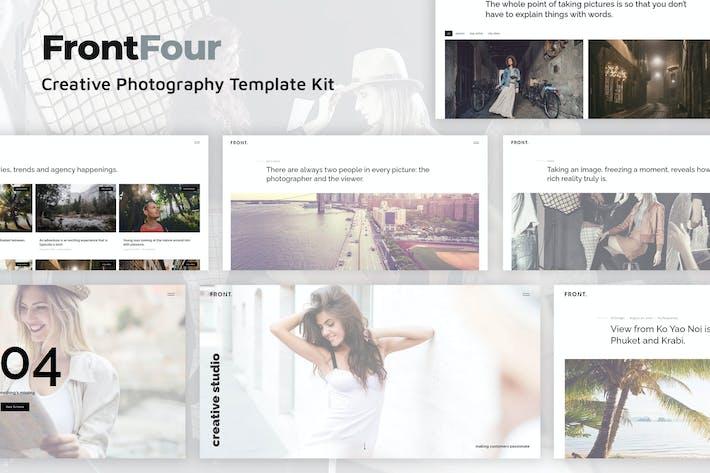 Thumbnail for FrontFour - Template Kit kreative Fotografie