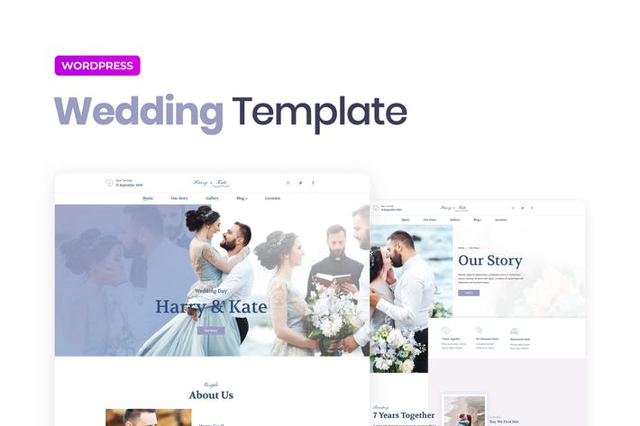 Thumbnail for Lovedy – Wedding Template Kit