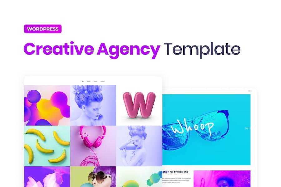Whoop – Creative Agency Elementor Template Kit