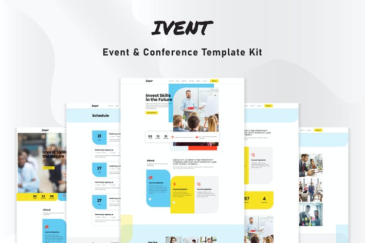 Thumbnail for Ivent - Event & Conference Template Kit