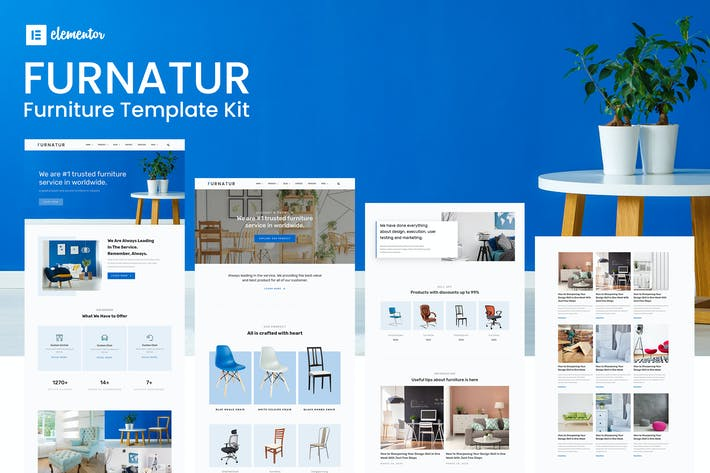 Furnatur - Furniture eCommerce Template Kit